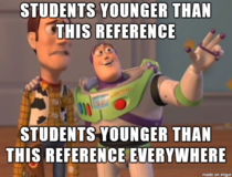 As a professor I sometimes teach freshmen This was a sobering realization