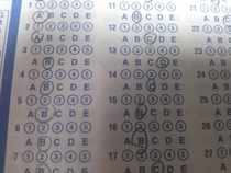 As a ScanTron Technician some people make me sick
