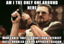 As a student