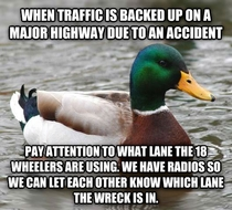 As a trucker people in cars really need to pay attention to this