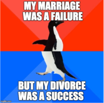 As a  year old having divorced over new years and trying to keep positive