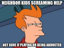 As a young male with no kids this caught me off guard today