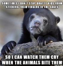 As a zookeeper it starts to get old pretty fast