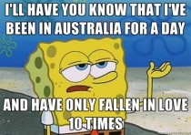 As an American visiting Australia for the first time