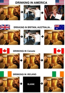 As an American who has been to all these countries except Australia this is the most accurate image Ive ever seen