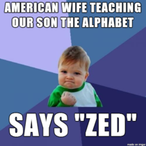 As an Australian with an American wife