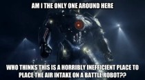 As an engineer I was watching the Pacific Rim trailer and couldnt help thinking