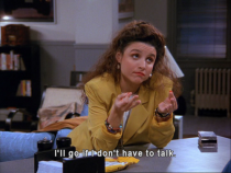 As an introvert I would have to agree Elaine
