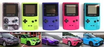 As an owner of a Ford Focus and a Gameboy Color I noticed something similar in their color schemes