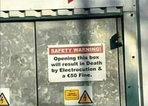As if death by electrocution wasnt enough