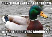 As someone who drives  miles a day too many people need to hear this