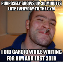 As someone who has a hard time losing weight my friend had a stroke of genius to help me out