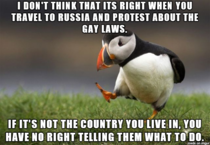 As someone who supports gay rights I still think this is wrong