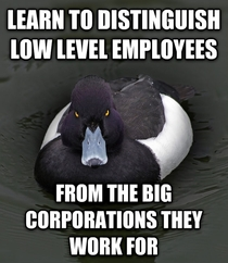As someone who works customer service for a big company getting yelled at for being heartless