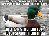 As someone who works in a call centre