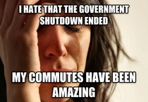 As someone who works in the private sector in DC with some of the countrys worst traffic