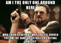 As someone who works mainly in busy hallways