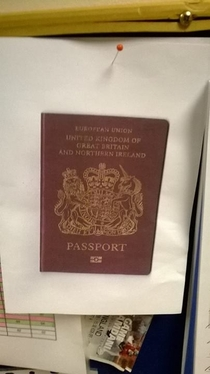 Asked an employee to bring in a photocopy of their passport