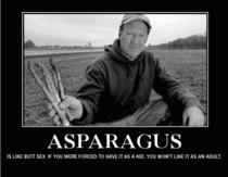 Asparagus your weird uncles favorite veggie