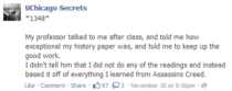 Assassins Creed Teaching college-level history lessons since