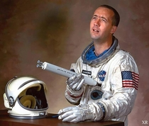 Astronaut Jim McDivitts  NASA portrait hits you right in the feels