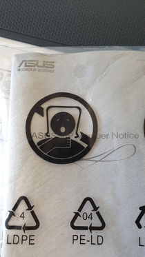 ASUS dont tell me how to enjoy myself