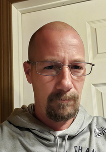 At  just got my first pair of prescription glasses and was told I look like Walter White I dont see it