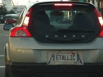 At least THIS Metallica fanboy is creative