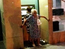 ATM security level Grandma