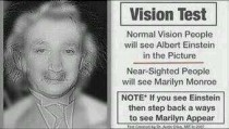 Awesome vision test