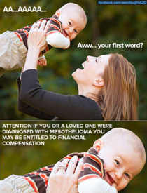 Aww his first words