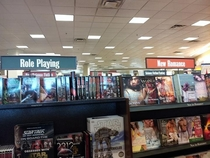 Awww Barnes and Noble is trying to help set up nerds with women D