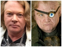 Axle Rose has become Alastor Moody