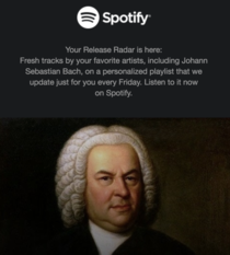 Bach still dropping fire