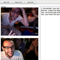 Back when chatroulette wasnt as creepy as it is now I found my twin while chatting