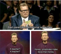 Bad Parental Motivational Speeches