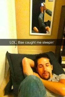 Bae caught me slippin - best one Ive seen
