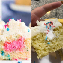 Bakery ruined my sisters gender reveal- I had to awkwardly say Uh surprise Youre having a girl FML