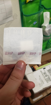 Bandages at my work say how many Health Points you receive