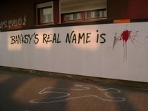 Banksys real name is