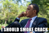 Barack Obama right now