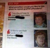 Barbara knows how to handle crime