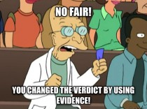 Basically how I see people on facebook still complaining about the Zimmerman verdict