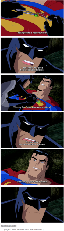 Batman and Supermans relationship
