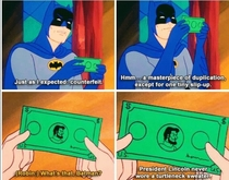 Batman is the ultimate detective