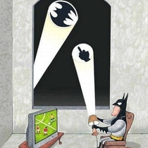 Batmans day off