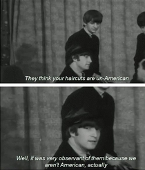 Beatles Masters of Sass