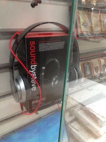Beats by Dr Dre knock-offs I found in a market in Turkey