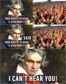 Beethoven does Lollapalooza