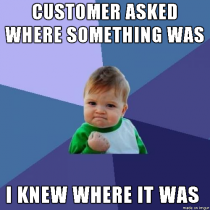 Being a new grocery store employee